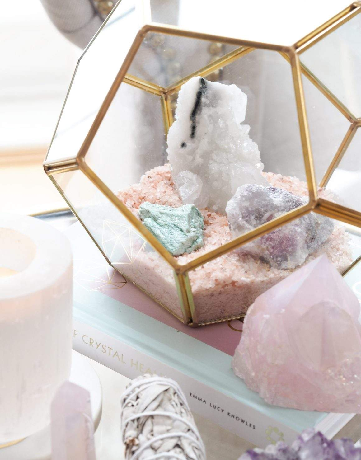 How To Cleanse And Charge Your Crystals As A Beginner